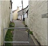 SW7834 : Northern end of Chapel Lane, Penryn by Jaggery