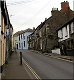 SW7834 : One-way sign, Helston Road, Penryn by Jaggery