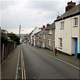SW7834 : Helston Road towards Penryn town centre by Jaggery