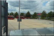 TQ0975 : Hatton Garden Bus Station by N Chadwick