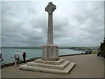 SW9276 : Padstow- St Saviour's Point by Ian Rob
