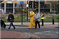 TA0928 : Pudsey Bear on  Queens Dock Avenue, Hull by Ian S