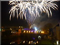 H4572 : Fireworks on Halloween night, Omagh (1) by Kenneth  Allen