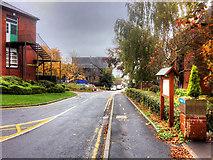 SD9106 : Royal Oldham Hospital, Chapel Walk by David Dixon
