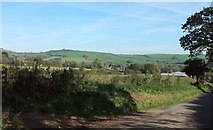 SY4193 : Towards the Winniford valley by Derek Harper
