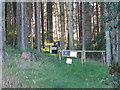 NT0174 : Field archery targets at Beecraigs by M J Richardson