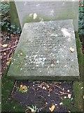 TQ2886 : Slab on the Grave by Bill Nicholls