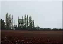 SX9896 : Water tower at Broadclyst by Rod Allday