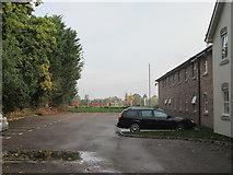 SJ3454 : Car  park  at  back  of  Premier  Inn  Gresford by Martin Dawes