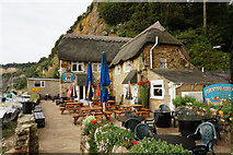 SZ5881 : Fishermam's Cottage, Shanklin Chine by Ian S