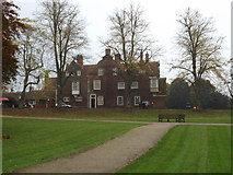 TM1644 : Christchurch Mansion & Wolsey Art Gallery by Adrian Cable