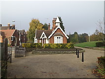 TM1645 : Lodge at the entrance of Christchurch Park by Adrian Cable