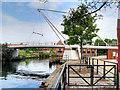 TG2308 : Lady Julian Bridge, Norwich by David Dixon
