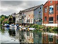 TG2308 : River Wensum, The Waterfront at Norwich by David Dixon