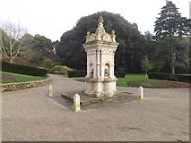 TM1645 : Water Fountain in Christchurch Park by Adrian Cable