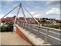TG2308 : Norwich, The Lady Julian Bridge by David Dixon