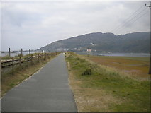 SH6214 : Path to Barmouth Bridge by Richard Vince