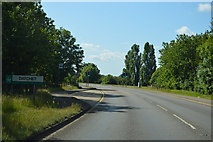 SU9778 : Entering Datchet, B376 by N Chadwick