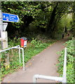 SO8402 : National Cycle Network Route 45, North Woodchester by Jaggery