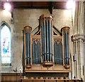 SH7882 : Holy Trinity organ by Gerald England