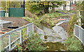 J3673 : Knock River works, Belfast - November 2015(1) by Albert Bridge