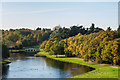 TQ0960 : The Lake, Painshill by Ian Capper