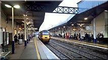 SO9322 : Train departing by Chris Morgan