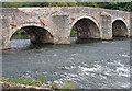 SS9307 : Exe Bridge, Bickleigh by Alan Hughes