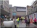 SE1633 : Broadway Centre - Broadway Entrance by Betty Longbottom