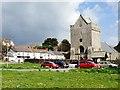 SS8377 : St.Johns Church, Newton by Alan Hughes