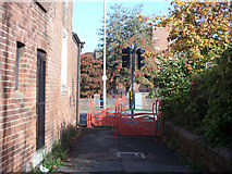 SX9091 : Footpath through to Cowick Street from Holland Road by John Firth