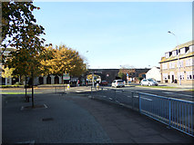 SX9192 : Cowick Street from Exe Bridge roundabout by John Firth