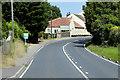 TG2814 : A1151 Wroxham Road near The Green Man by David Dixon