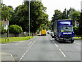 TG2917 : HGV on Norwich Road at Wroxham by David Dixon