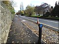SE2634 : Stanningley Road with bus stop and cycle lane by Stephen Craven
