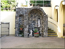 J3652 : Marian Grotto at St Patrick's Catholic Church, Ballynahinch by Eric Jones