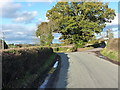 SJ5304 : Road junction north of Pitchford by Richard Law