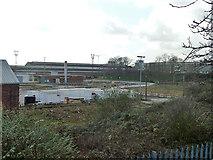 TQ2182 : Behind the locomotive sheds, Old Oak Common, 2011 by Robin Webster