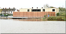 J3371 : Queen's University boathouse, Stranmillis, Belfast - November 2015(1) by Albert Bridge