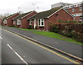 SO5174 : Springfield Close bungalows, Ludlow by Jaggery