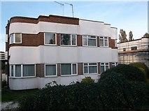 TQ3870 : Art deco houses on Farnaby Road, Ravensbourne by David Howard