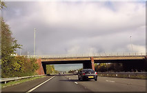 ST0207 : Overbridge at junction 28 by John Firth