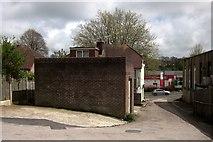 SX9066 : Exit from Barton Business Park by Derek Harper
