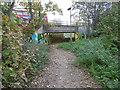 TQ1690 : The trackbed of the former Harrow & Stanmore Railway passing under Kenton Lane by Marathon