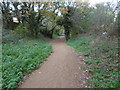 TQ1690 : The trackbed of the former Harrow & Stanmore Railway by Marathon