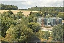 TL1217 : Sewage Farm in the Lea Valley by N Chadwick