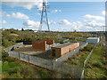 TQ6174 : Electricity transformers near Ebbsfleet International by Marathon