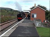 SO2508 : Rear view of  Webb Coal Tank 1054 at  Blaenavon (High Level) railway station by Jaggery