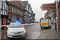 SP9211 : Police seal off Tring High Street after a bank raid by Chris Reynolds
