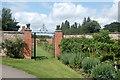 SE2797 : Entrance to the vegetable garden, Kiplin Hall by Bill Harrison